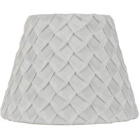 Lamp shades walmart better homes and gardens white pleated table lamp shade greentooth Choice Image