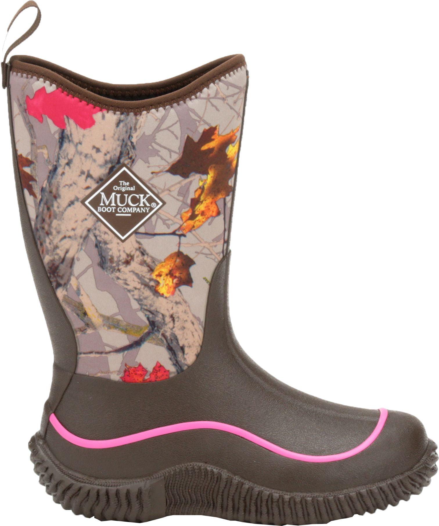 Muck Boots Kids' Hale Hot Leaf Camo