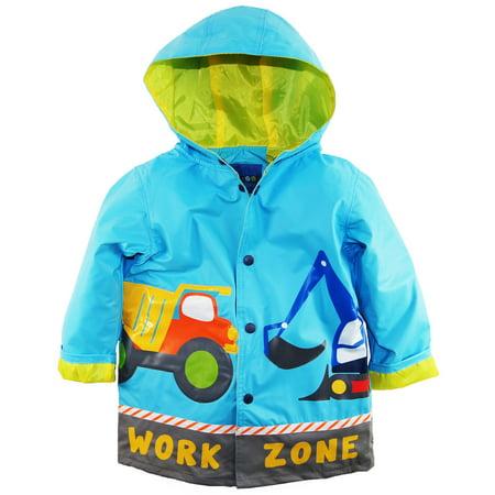 1076571a3 WIPPETTE KIDS - Wippette Little Boys Rain Coat Rainwear Waterproof ...