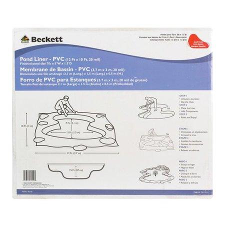 Beckett PVC Pond Liner Cover