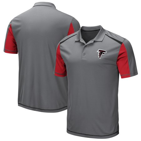 Atlanta Falcons Majestic Draft Prize Polo - Gray (Atlanta Falcons Victory Polo)
