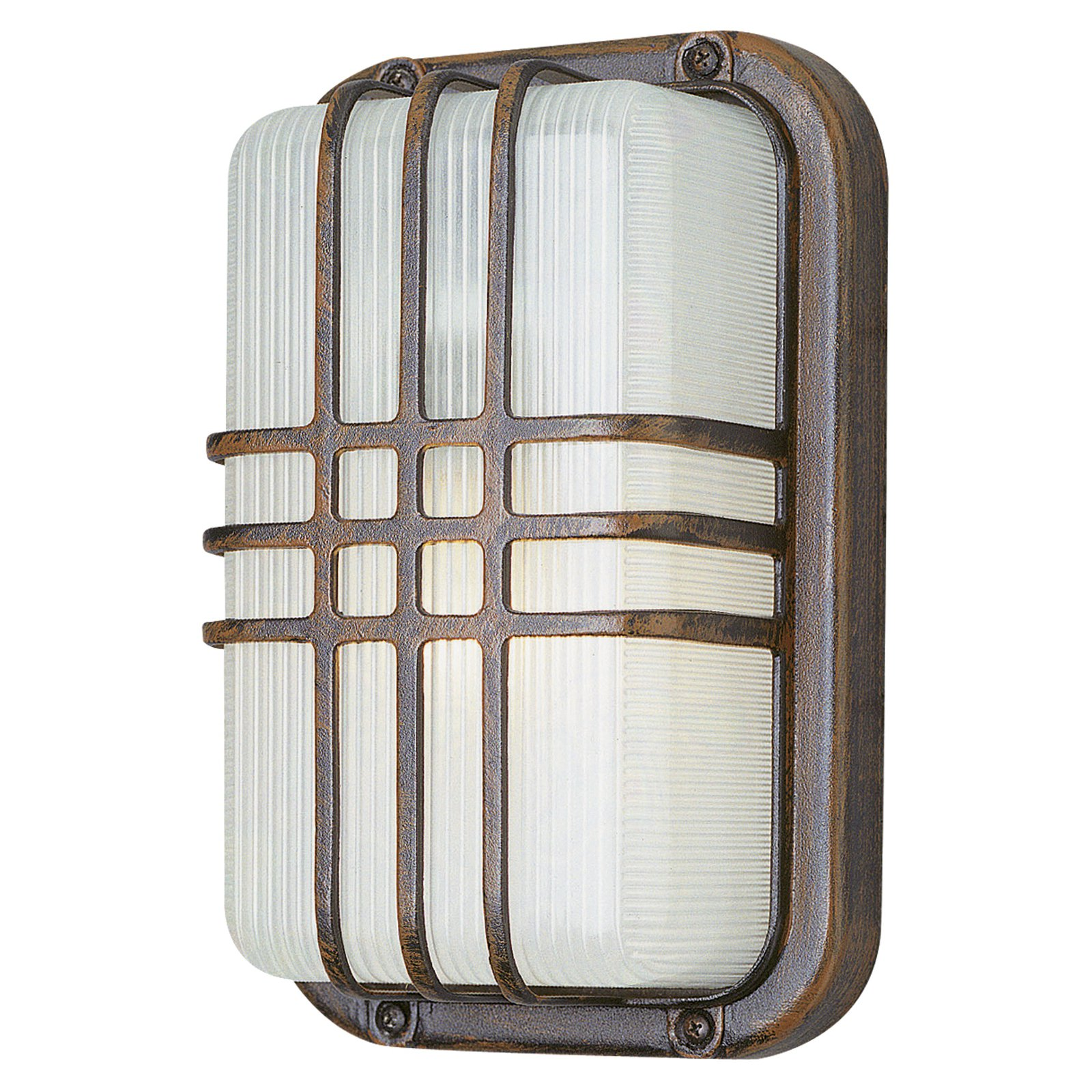 Trans Globe Energy Saver PL-41104 Rectangle Bulkhead Wall/Ceiling Light - 10H in.