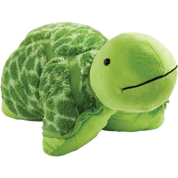 Pillow Pets Teddy Turtle Stuffed Animal Plush Toy