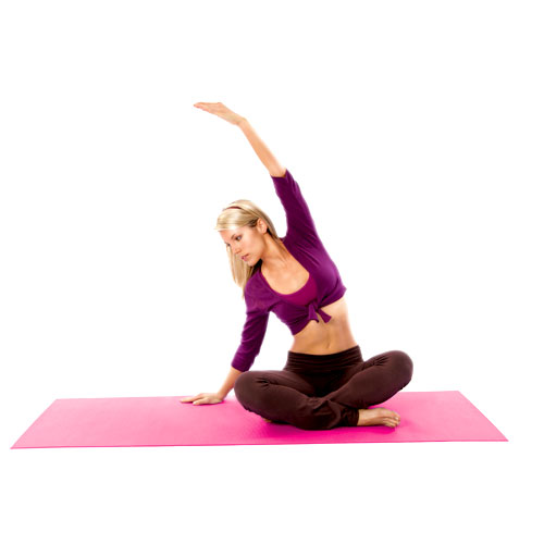 The FIRM Pink Yoga Mat