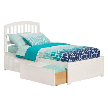 Richmond Extra Large Match Footboard with Urban Bed Drawers x 1 - White, Twin Size ()