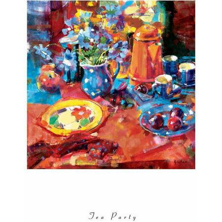 Graham Tea Party Fine Art -