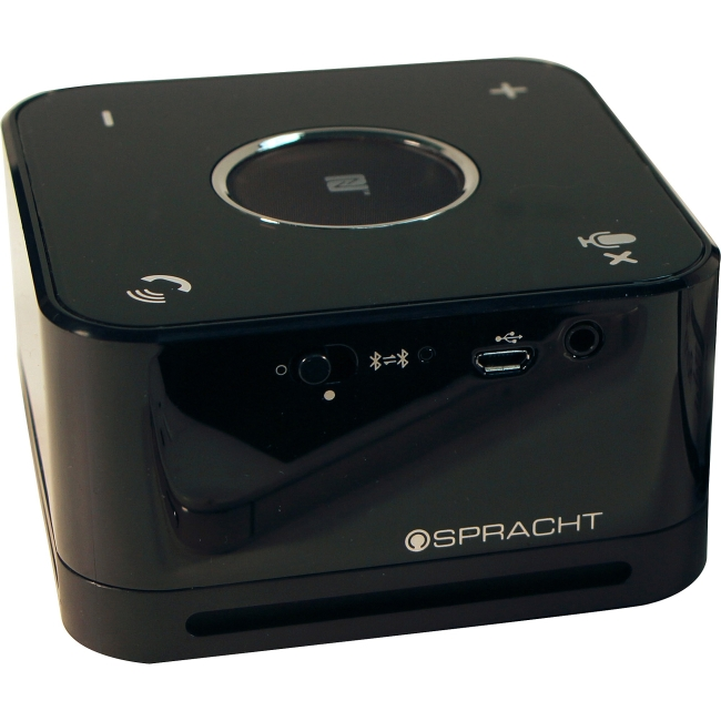 Spracht The Conference Mate - Black - 32.8 ft - Bluetooth - USB