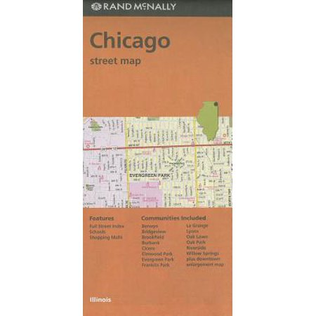 Rand mcnally chicago, illinois street map: 9780528007842