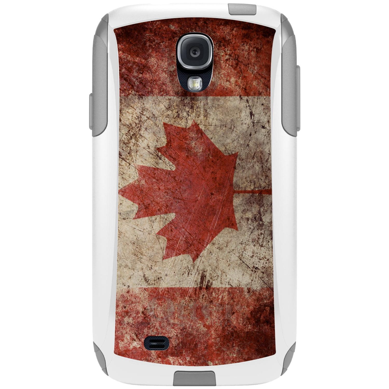 DistinctInk Custom White OtterBox Commuter Series Case for Samsung Galaxy S4...