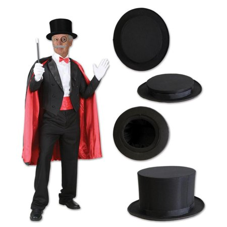 (Pack of 6) Beistle Magic Top - Magic Top Hat