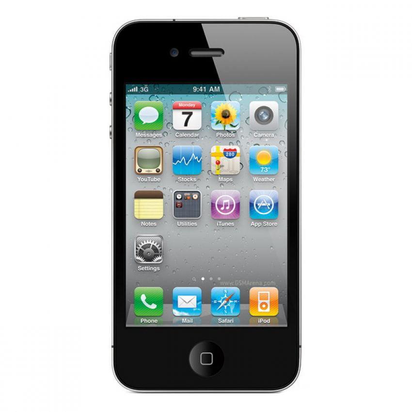 Refurbished Apple iPhone 4 8GB, Black - Straight Talk