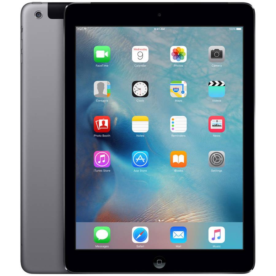 Apple iPad Air 1 (AT&T), 16GB, Black, A1475