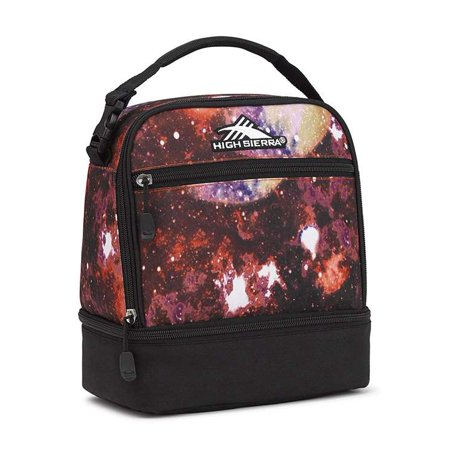 aea2ccd94021af High Sierra Stacked Compartment Lunch Bag Tote SPACE AGE/BLACK - Walmart.com