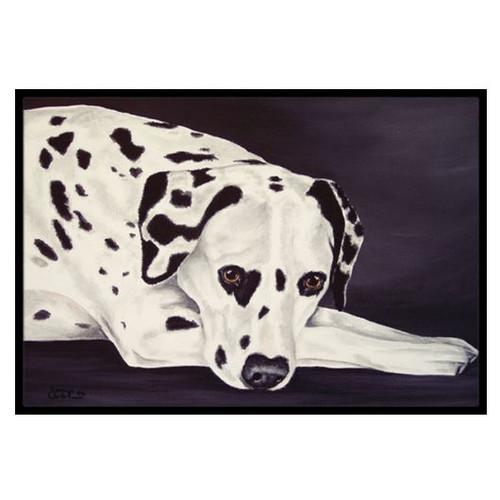 Dal Dalmatian Doormat by Caroline's Treasures