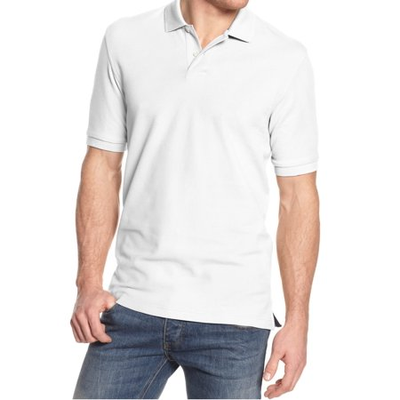 Club room new white mens size xlt polo rugby performance for Mens xlt t shirts
