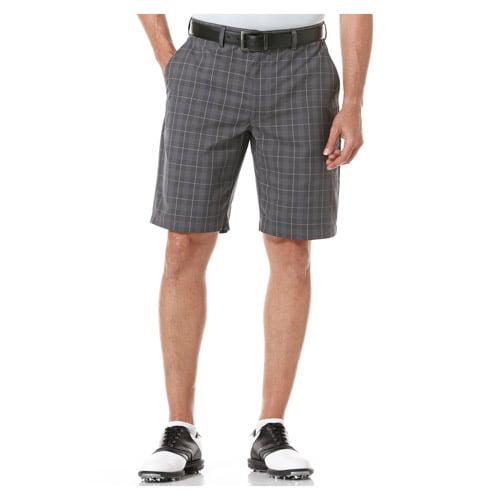Ben Hogan Men's Performance Windowpane Plaid Shorts