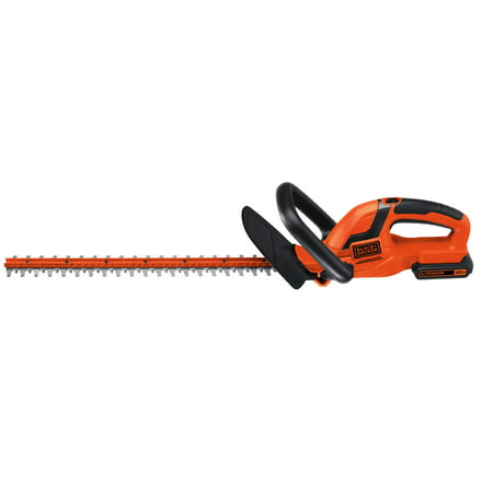 BLACK+DECKER LHT2220 20V MAX* Cordless Lithium 22 in. Hedge Trimmer