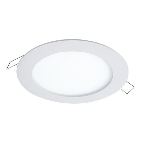 HaloSMD-DM 6.2 in. Lens White Round Integrated LED Surface Mount Recessed Ceiling Light, 5000K Daylight