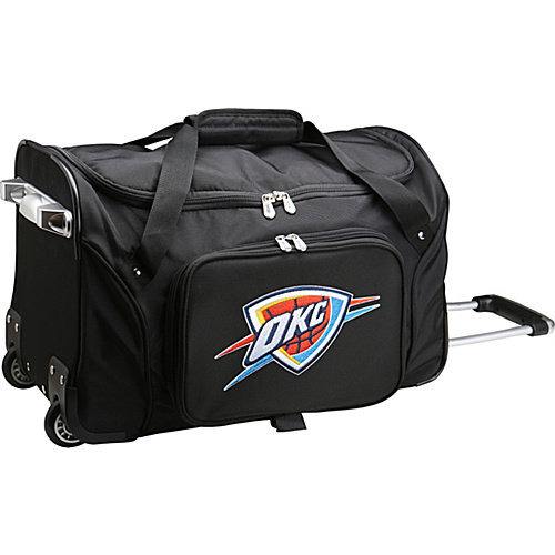 "Denco Sports Luggage NBA 22"" Rolling Duffel"