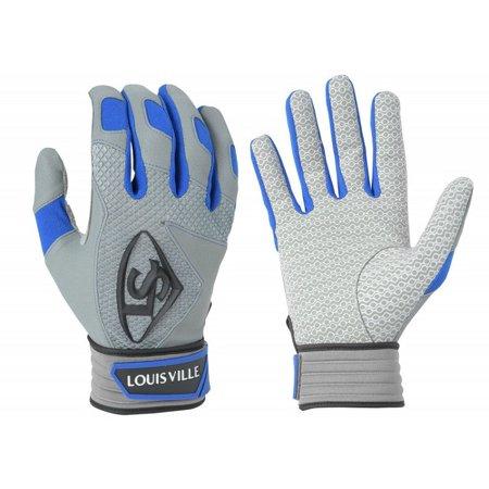 Royal Batting Gloves (1 pr Louisville Slugger BGS716 Mens Small Royal Blue Series 7 Batting Gloves )