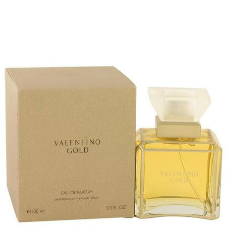 Valentino Gold by Valentino Eau De Parfum Spray 3.3 oz (Valentino Gold)