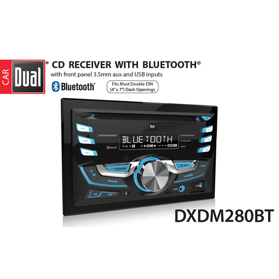 • Dual Electronics DXDM280BT Multimedia LCD High