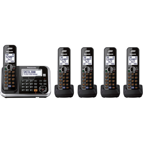 Panasonic KXTG6845B Telephone (Discontinued by Manufacturer)