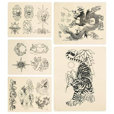 rehab ink 5 tattoo practice skins variety pack. Black Bedroom Furniture Sets. Home Design Ideas