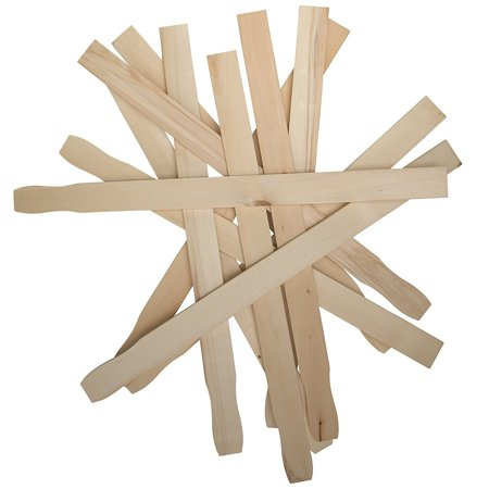 12 inch Paint Stir Sticks | Paint Stirring Sticks | 12 inch Paint Paddle | Epoxy or Resin | Garden or Library Marker | Wood Crafts | Bulk Pack of 100 Hardwood Stirrers ,Pack of 100 By Woodpeckers