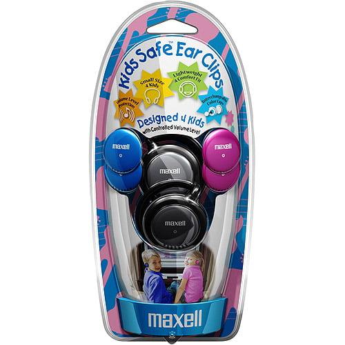Maxell Kids Safe KHP-1 - Headphones - clip-on - 3.5 mm jack