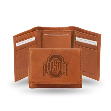 Rico - NCAA Embossed TriFold Wallet, Ohio State University -
