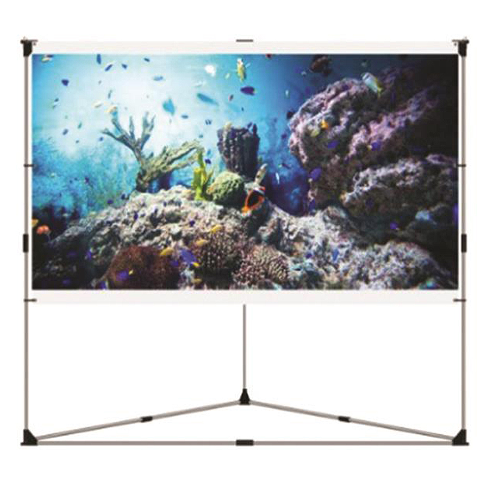 "Pyle Home PRJTPOTS71 Portable Outdoor Projection Screen (72"")"