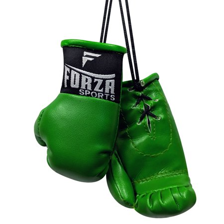 Forza Sports Mini Boxing Gloves 14k Gold Boxing Gloves