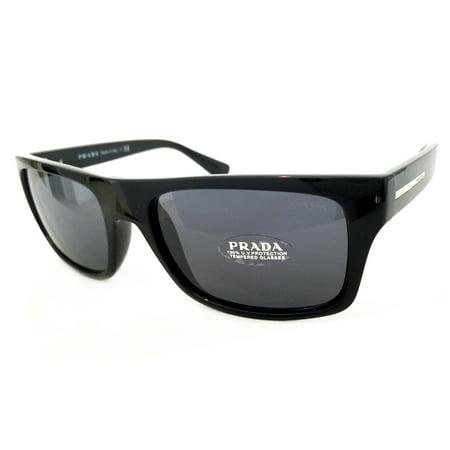 f90a4920e2bd7 Prada - PRADA PR18PS SUNGLASSES COLOR 1AB-0A9 BLACK SIZE 56-18-140 -  Walmart.com