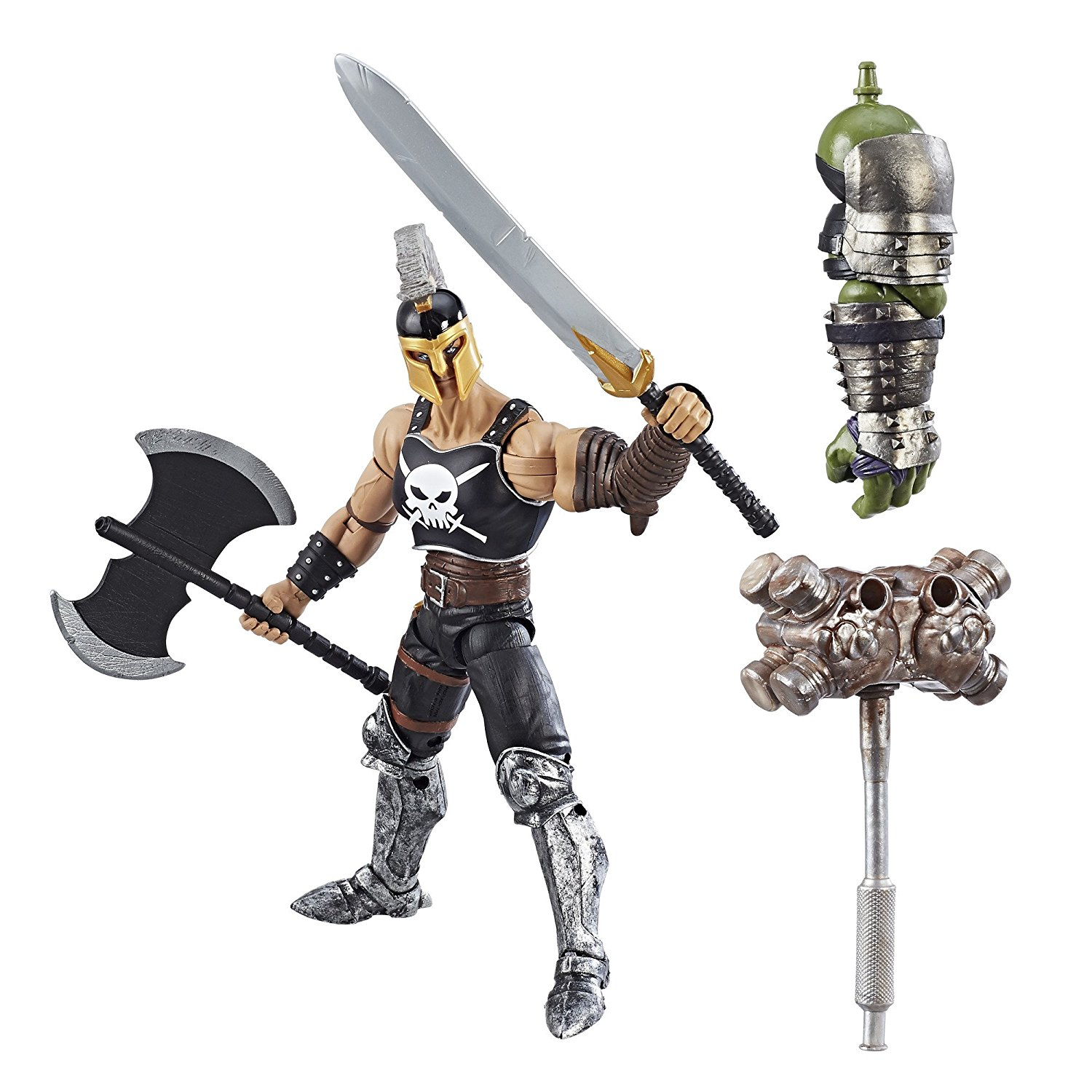 Marvel Thor Legends Series 6-inch Nine Realms Warriors (Marvel's Ares), Comic-inspired design By Avengers by