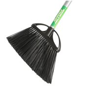 "BROOM-ANGLED, 10"" WITH 48"" METAL HANDLE"