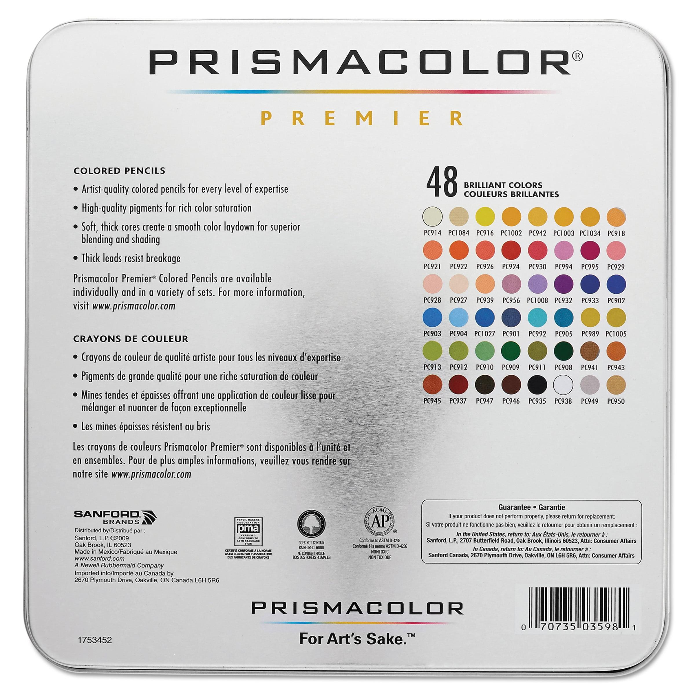 Prismacolor Premier Colored Woodcase Pencils 48 Colors Walmart