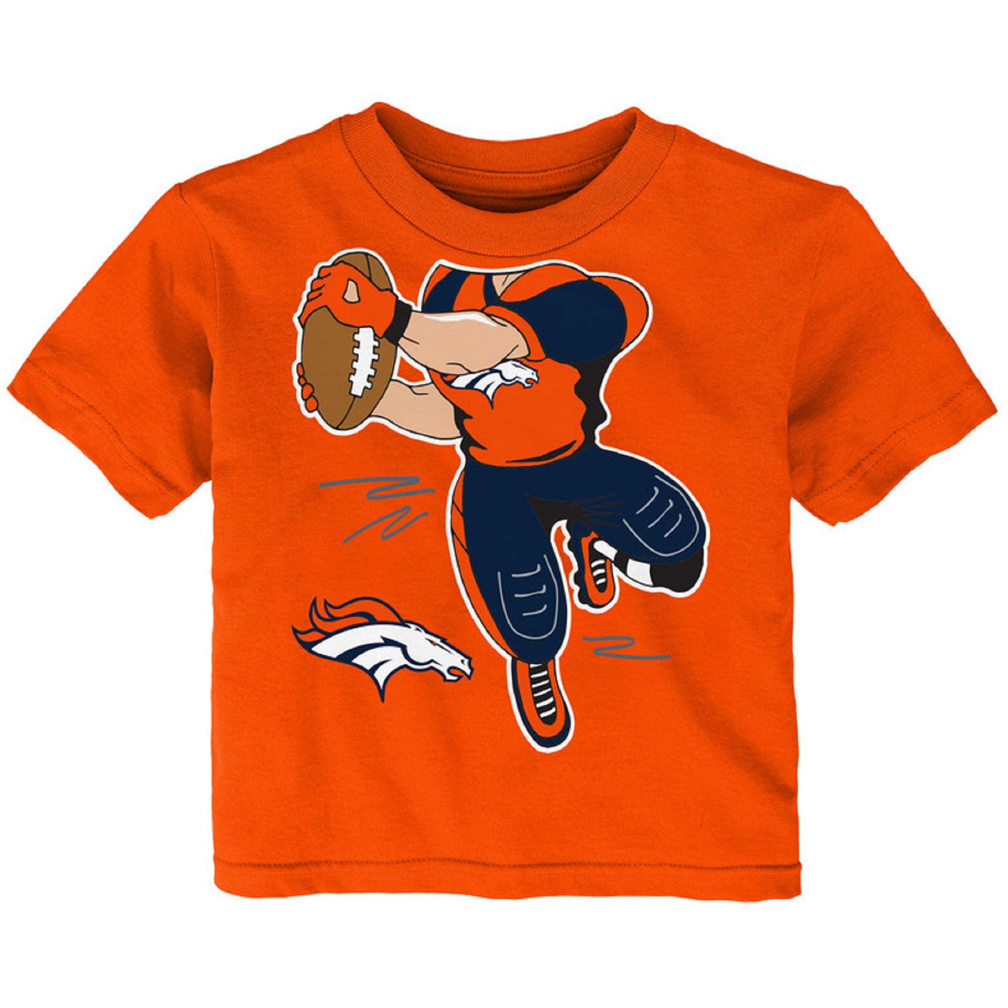 Newborn & Infant Orange Denver Broncos Receiver T-Shirt