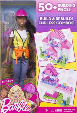 Barbie Builder Doll & Playset by MATTEL BRANDS A DIVISION OF MATTEL DIRECT IMPORT INC