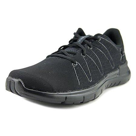 Under Armour Thrill 3 Men  Round Toe Canvas Black Running Shoe