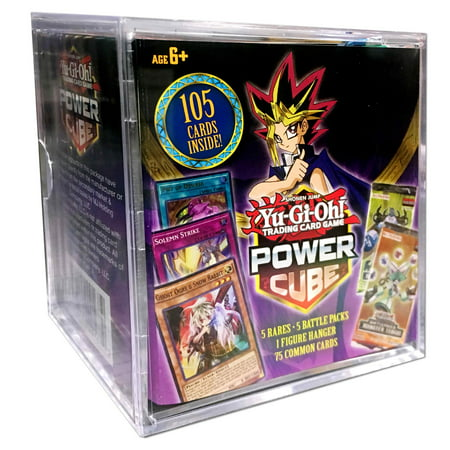 Yu-Gi-Oh! Trading Card Game Power Cube 5 Rares - 5 Battle packs - 1 Figure Hanger - 75 Common Cards Victory Common Card
