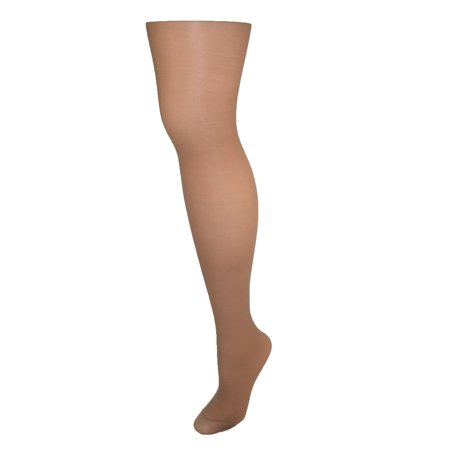Hanes Alive Women's Nylon Support Reinforced Toe Sheer Pantyhose (Pack of 6)