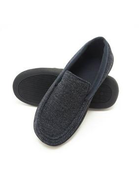 Hanes Men's Memory Foam Odor Free Slippers