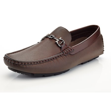 Marco Vitale Men's Driving Shoes Italian Dress Casual Moccasin Loafers