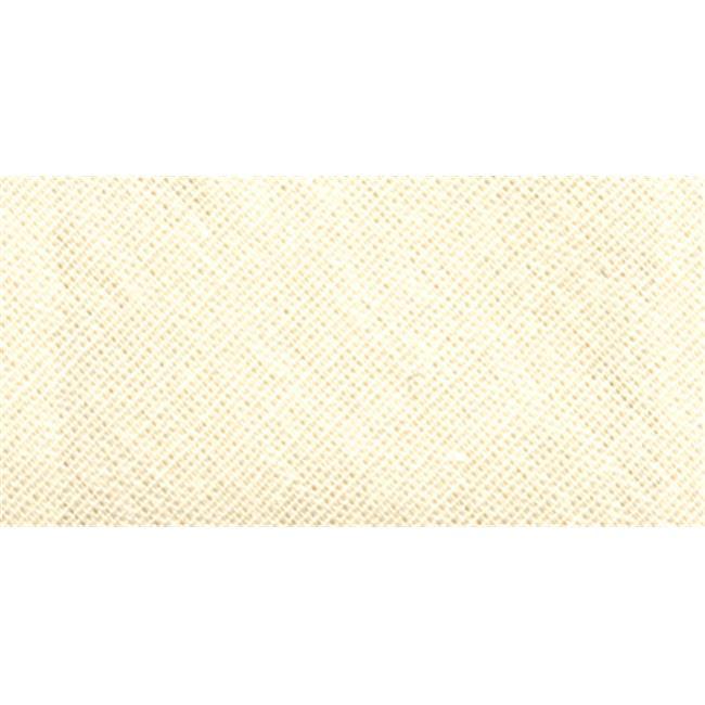 "Bias Tape Hem Facing 1-7//8/""X2-1//2yd Oyster 070659130014"