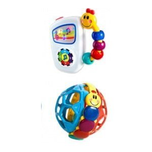 Baby Einstein 2 Piece Gift Pack - Take Along Tunes / Bendy Ball