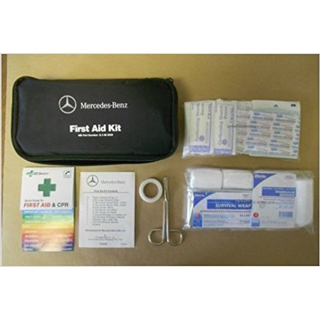 MERCEDES BENZ First Aid Kit Quick Guide First Aid CPR MB Part Number Q4 86 0026