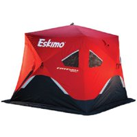 Eskimo Fatfish 949i Insulated 3-4 Person Portable Pop Up Ice Fishing Shelter