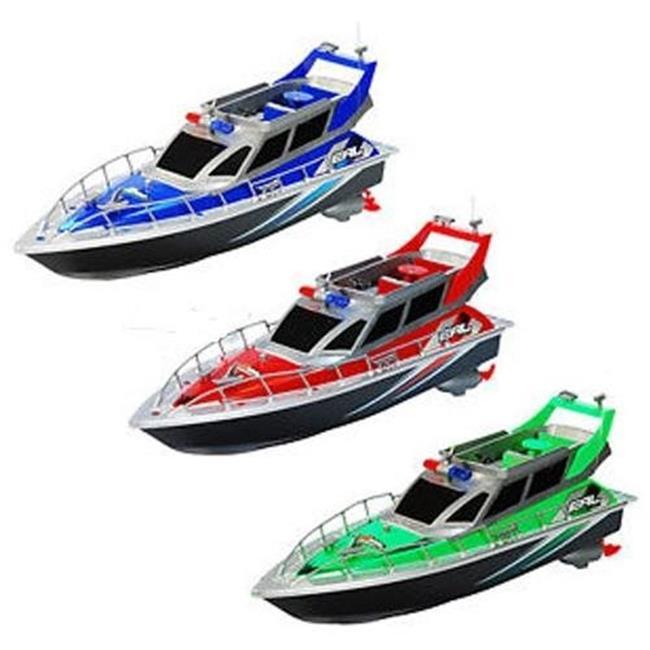 Microgear AC21020-Blue Radio Control Patrol Boat 4.8V 800...