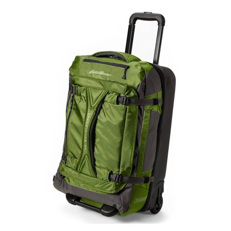 Eddie Bauer Unisex-Adult Expedition Drop Bottom Rolling Duffel - - Expedition Dry Duffel